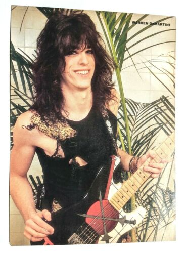 RATT / WARREN DEMARTINI / GEORGE LYNCH MAGAZINE FULL PAGE PINUP POSTER CLIPPING