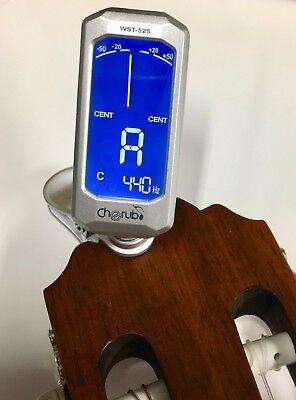 Gitarrenstimmgrät Clip-Tuner - auch f.  Banjo Geige Mandoline Ukulele |5w