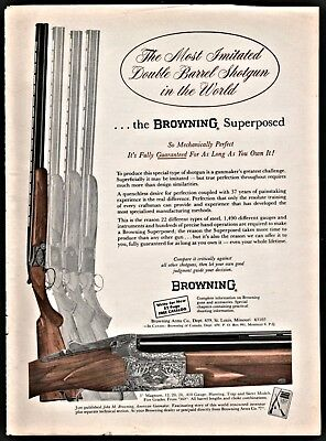 Advertisements - Browning Superposed