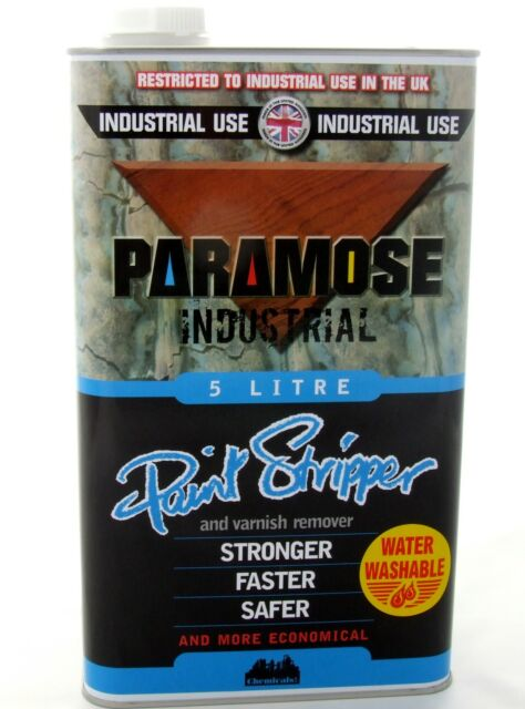 PARAMOSE PAINT STRIPPER (THICK) 5 Litres 1 x 5L Can