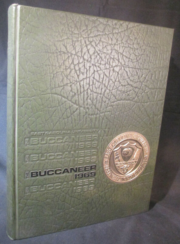 "1969 East Carolina University Yearbook ""Buccaneer"""