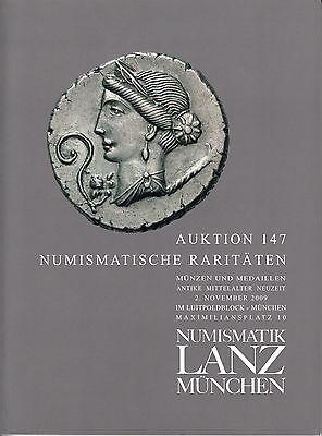 LANZ AUKTION 147 2009 Antike Mittelalter Neuzeit Siegel  Literatur ~