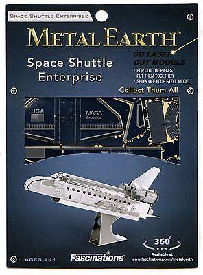 Metal Earth Space Shuttle Enterprise 3D Puzzle Micro Model