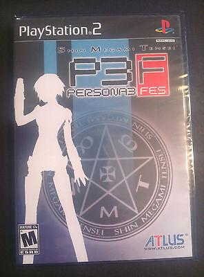 Shin Megami Tensei Persona 3 FES -Sony PlayStation 2 New