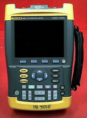 Fluke 199c 200mhz 2ch 2.5gsas Scopemeter Dm8470138