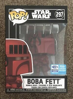Funko Pop Boba Fett Star Wars Wondercon 2020 limited edition Exclusive 297 New