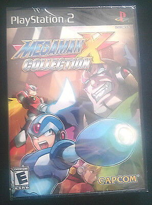 Mega Man X Collection (Sony PlayStation 2, 2006)