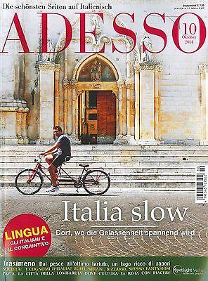 ADESSO, Heft Oktober 10/2014 inkl. evviva  - Italienisch-Magazin ++ wie neu ++