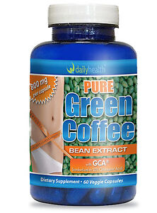 1 btl Pure Green Coffee Bean Extract 800mg DR OZ w/ GCA Chlorogenic Acid Svetol