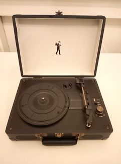 Retro Suitcase Record Player AS NEW