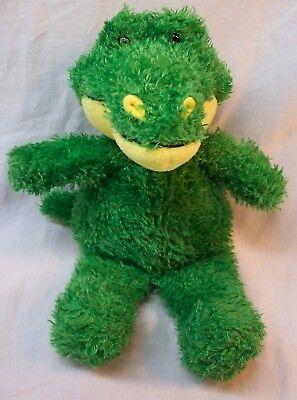 Fuzzy Alligator - Steven Smith CUTE GREEN & YELLOW FUZZY ALLIGATOR 10
