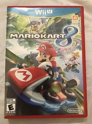 Nintendo Wii U Mario Kart 8 Game - No Instruction Manual