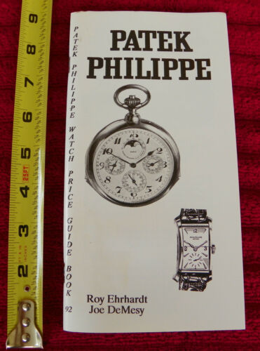 Roy Ehrhardt  DESCRIPTIONS & REFERENCE NUMBERS WRISTWATCH PATEK PHILIPPE 114pg