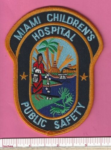 Miami Childrens Hospital FL Fla Florida Public Safety Police Shoulder Patch - V2
