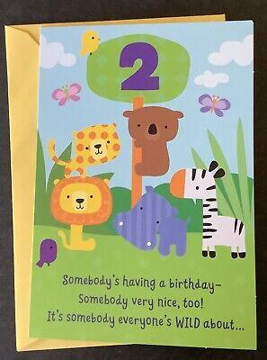 Happy 2nd Birthday Card Hallmark Greeting Card