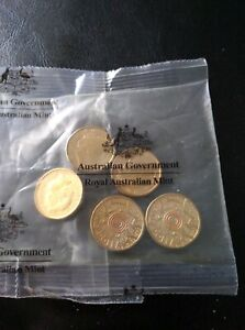 Orange 2015 remembrance coins ×5 incirculated