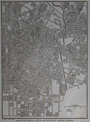 1883 CA Map Ridgecrest Rohnert Park Rosemont Rowland Heights CALIFORNIA History