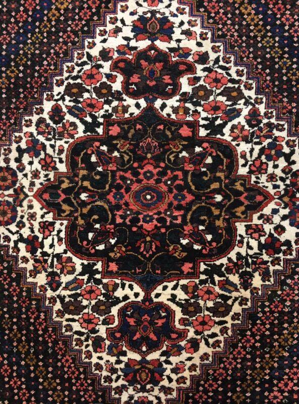 Fantastic Floral - 1900s Antique Oriental Rug - Shah Ashrafi Carpet - 7 X 10 Ft.