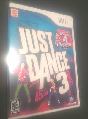 Just Dance 3 Nintendo Wii  New Game