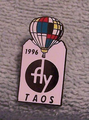 1996 FLY TAOS BALLOON PIN