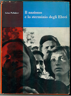 POLIAKOV LEON IL NAZISMO E LO STERMINIO DEGLI EBREI EINAUDI 1955 SAGGI 187