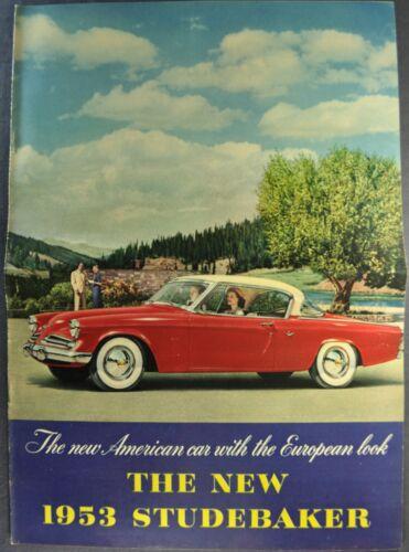 1953 Studebaker Brochure Commander Champion Starliner Excellent Original 53