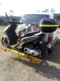 Piaggio Typhoon 125cc 4T Scooter Moped motorcycle not Vespa bike