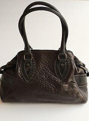 Fendi Crocodile Leather - AUTH FENDI BAG DE JOUR BROWN CROCODILE PRINT LEATHER HANDBAG.PRE-OWNED
