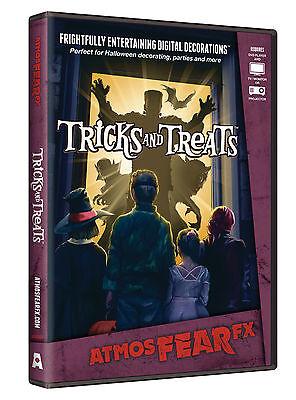 Tricks und Leckerbissen DVD Halloween Virtuell Fenster Projektion Prop von ()