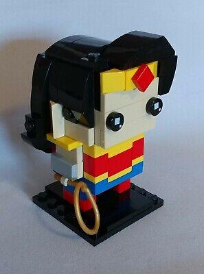 Original Lego Wonder Woman Brickheadz Store Build + Storage Container