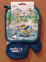 Manopla Las Carreras De Esquí De Sochi 2014. Potholder Sochi 2014 Olympic Games -  - ebay.es