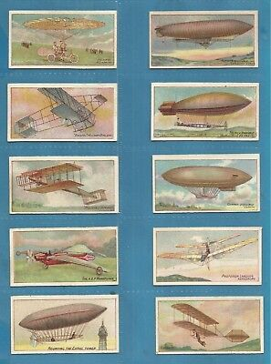 Wills cigarette cards - AVIATION (VICE REGAL) 1910