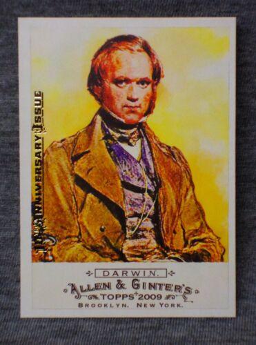 Charles Darwin 2015 Allen & Ginter