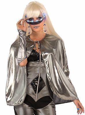 Metallic Silver Futuristic 25