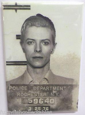 David Bowie Mugshot Vintage Photo 2