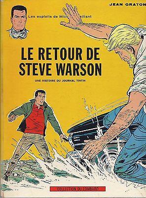 BD Michel Vaillant- Le retour de steve Warson - N°9- EO -1965- BE- Graton