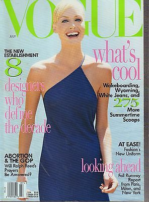 Vogue Magazine July 1996 Amber Valletta 072117Nonjhe