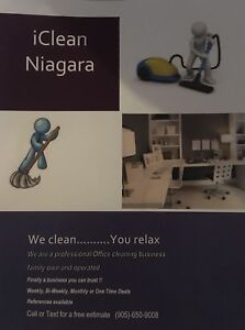 IClean Niagara Office/building cleaning