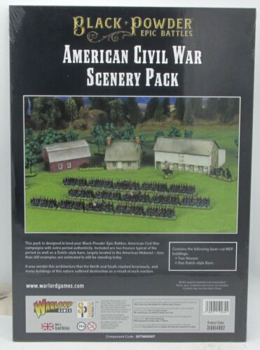 Black Powder Epic Battles 318814002 American Civil War Scenery Pack (15mm) ACW