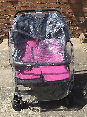 Joie double pushchair With Plastic Front Cover