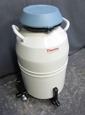 Thermo Forma 8036 Cmc Series 20.5 Liter Nitrogen Dewar W 6 Canisters