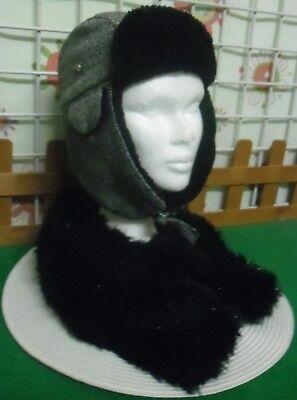 Chapka,bonnet + écharpe ,ado fille,femme