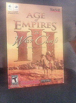 Age Of Empires Iii  Warchiefs War Chief Expansion   Mac New