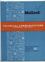 Mullard - Technical Comunications - Volume 2 - Number 11 - April 1955 -  - ebay.es