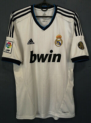 MEN'S ADIDAS FC REAL MADRID 2012/2013 HOME SOCCER FOOTBALL SHIRT JERSEY SIZE S image