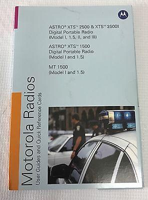 Pmln4940b Motorola Radios Manual  Cards Astro Xts 2500 1500 2500i Mt 1500 Disc