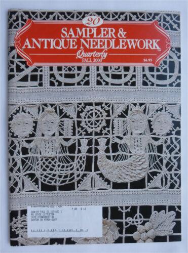 Sampler & Antique Needlework Quarterly ~ Volume 20