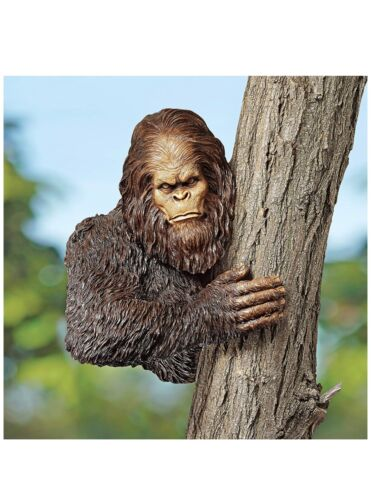Bigfoot Yeti Sasquatch 15 inch Tree Hugger Outdoor Yard Decoration (a)