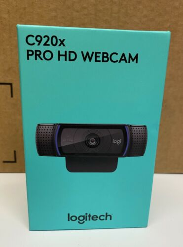 Logitech HD Pro Webcam C920, Widescreen Video Calling and Re