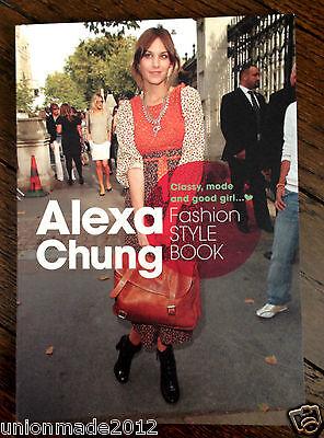 PHOTO BOOK Alexa Chung Perfect Fashion Style book All About A.C Rare!